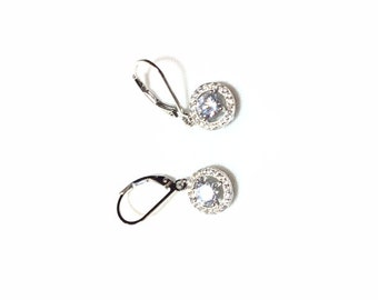 earrings ,silver 925 sterling jewelry with great care.zircon aaa ston Amazing earrings for every occasion