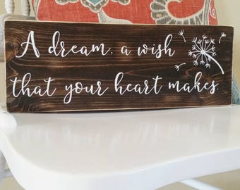 A Dream, A Wish Your That Heart Makes