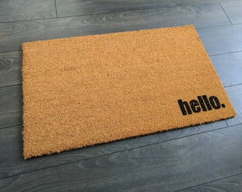 Hello. Doormat