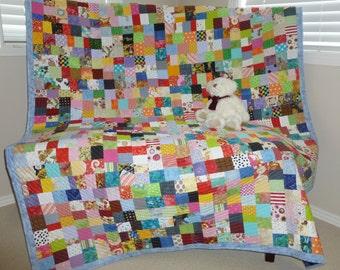 Large Scrap Quilt