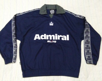 vintage ADMIRAL CLASSIC SWEATER embroidered size S