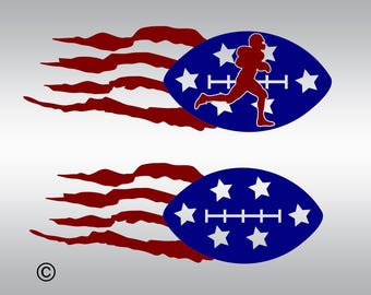 American flag svg, Football svg, Sports svg, American football svg, SVG Files, Cricut, Cameo, Cut file, Clipart, Svg, DXF, Png, Pdf, Eps