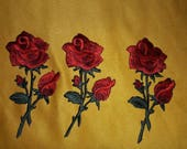Beatiful Embroider FLOWER PATCH IRON