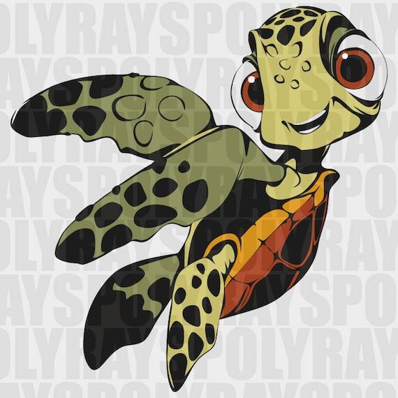 Little Turtle Svg Disney Nemo Png Nemo Svg Finding Dory