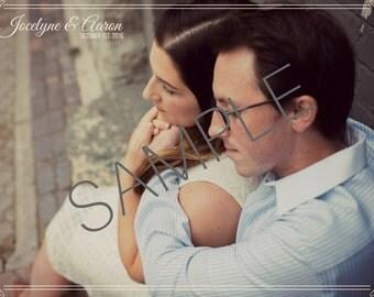 Wedding Invitation Design - Digital Copy