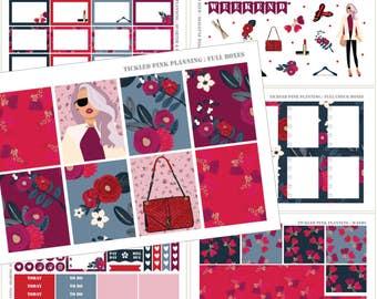 TRES CHIC | Full Kit | Planner Stickers | Erin Condren Vertical