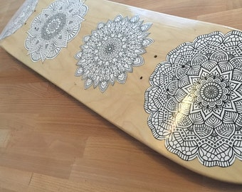 Graphic Skate Board