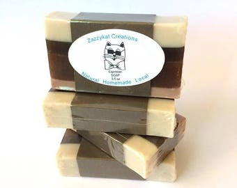 Coffee Soap, Natural Coffee Soap, Vegan Coffee Soap, Handmade Coffee Soap, Coffee Soap Bar, Coffee Gifts, Coffee Lover Gifts