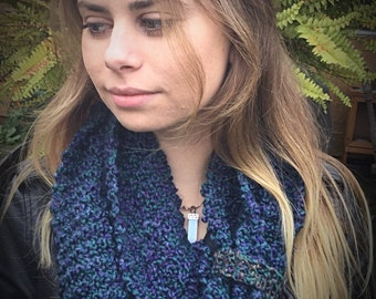 Infinity Scarf Knit by Hand