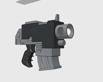 Bolt Pistol Replica 3DFW Pattern | Warhammer 40K inspired | Life Sized | Unofficial