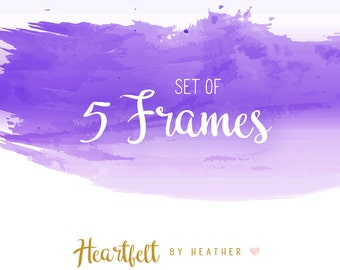 5 Personalized Picture Frames Distressed Frames Customized