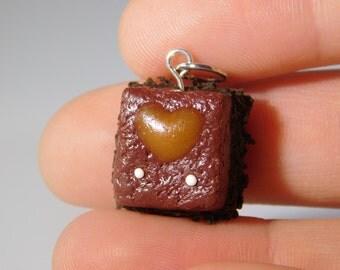 Caramel Brownie Charm