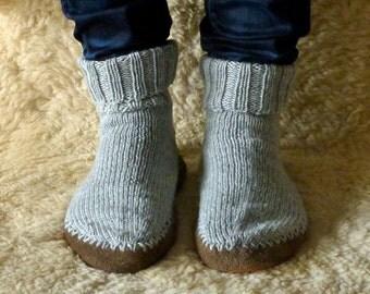 Sattler-soled slippers