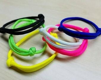 Friendship adjustable slider 10 bracelet grab bag! Paracord bracelets, ankle bracelet, puppy welping collars, simple jewelry, paracord gifts