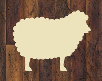 Sheep Stencil - Multiple Sizes Available