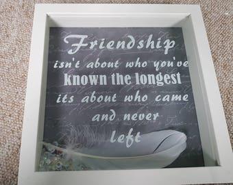Friendship Personalised Frame