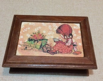 Holly hobbie jewelry box