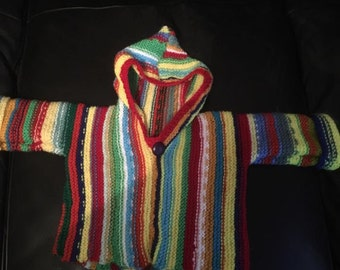 Hippy Striped Baby Jumper