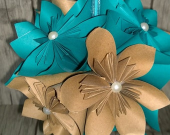 Paper Flower Decoration, flower balls, wedding, home decor, hanging decorations, origami