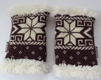 Woman gloves,Woman mittens,Knitted mittens,Soft mittens,Winter mittens
