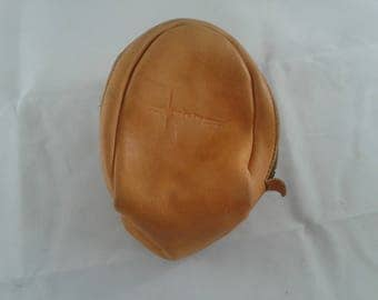 Garcia Fine Fishing Tackle Tan Leather Reel Pouch