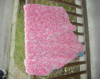 Fluffy Pink Baby Blanket