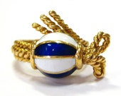 Nautical Gold & Enamel Sa...