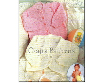 Knitting Baby Jacket Pattern, instant download, knitting pattern, knitting patterns
