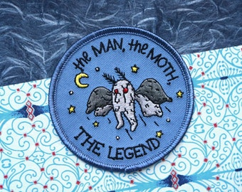 The Man, the Moth, the Legend Patch