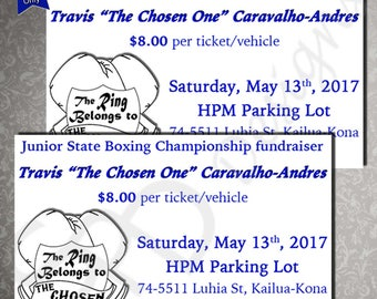 Event & Fundraising Tickets
