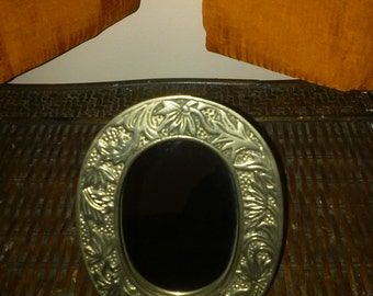 Vintage Brass Crowning Touch Collection Mirror
