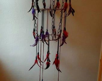 Gothic chandelier dreamcatcher