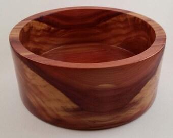 Eastern Red Cedar Decorative Jewelry Bowl