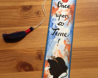 Disney snow white bookmarks / once upon a time / big with handmade tassel / Disney / gift for readers