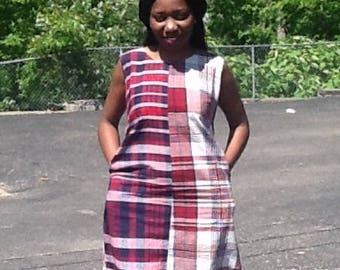 African dress. African print dress. George print dress