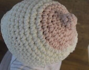 Boobie Beanie Crochet