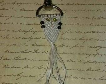 Owl Key Chain with Swivel Hook