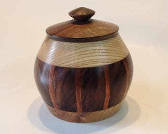 Segmented Lidded Pot
