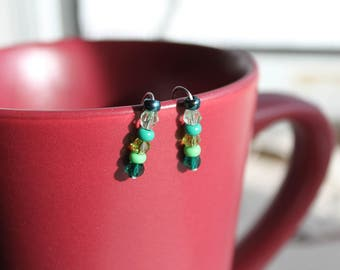 Stainless Steel Seed Bead Ear Climber