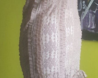 Fairy Lace Dress, Fairy Dress, Gypsy Dress, Transparant Dress, Handmade Dress