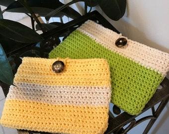Handmade Crocheted Clutch Purse