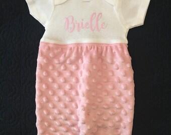 Custom Newborn Gowns
