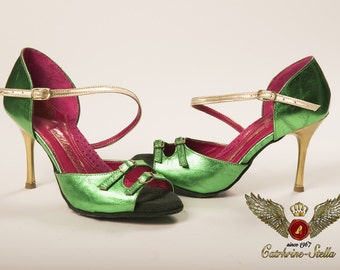 BARRIDA - Tango, Tango Shoes, Dancing Shoes, Anatomic, Leather, For Woman, Confident Step