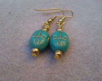 scarab earrings
