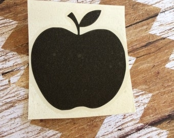 Apple Decal, Teacher Decal, Teacher Apple Decal