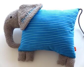 Fridolin - cheep cuddly pillow
