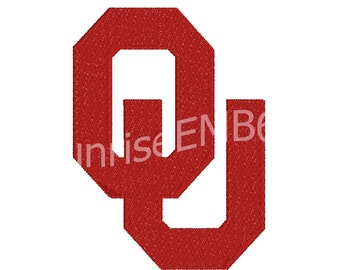 7 Sizes**Oklahoma Fill Embroidery design- 8 formats machine embroidery design - Instant Download machine embroidery pattern