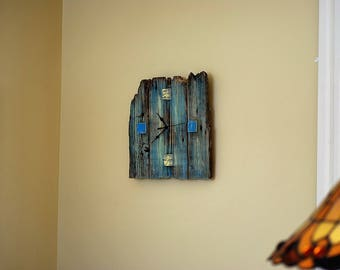 wooden barn/reclaimed wood clock