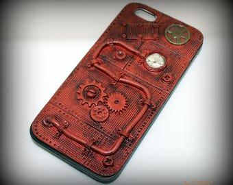 Steampunk iPhone 6c Case. Steampunk Case. Steampunk Phone Case.