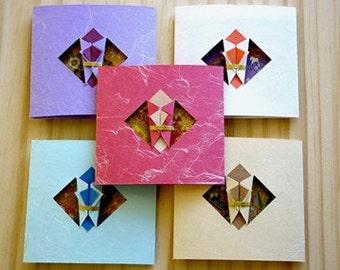 5pcs - Japanese Modern Gift Card
